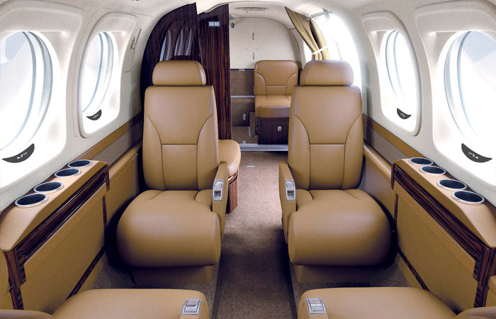 Beechcraft interior