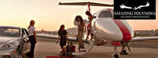 Private Jet Bora Bora Charters