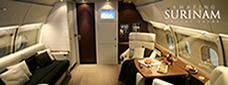 Private Jet Surinam Charters