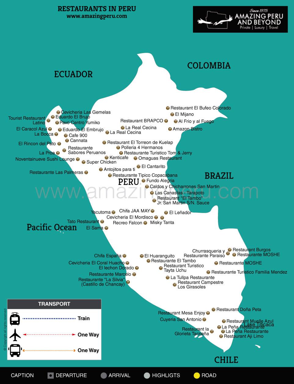 Peru Gourmet Tour - Gourmet tour in peru