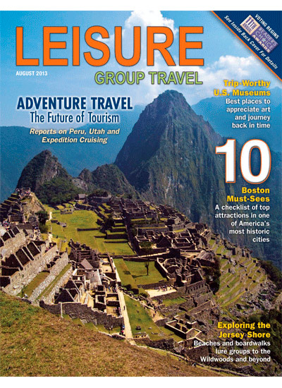 THE TRAVEL AND LEISURE MAGAZINE