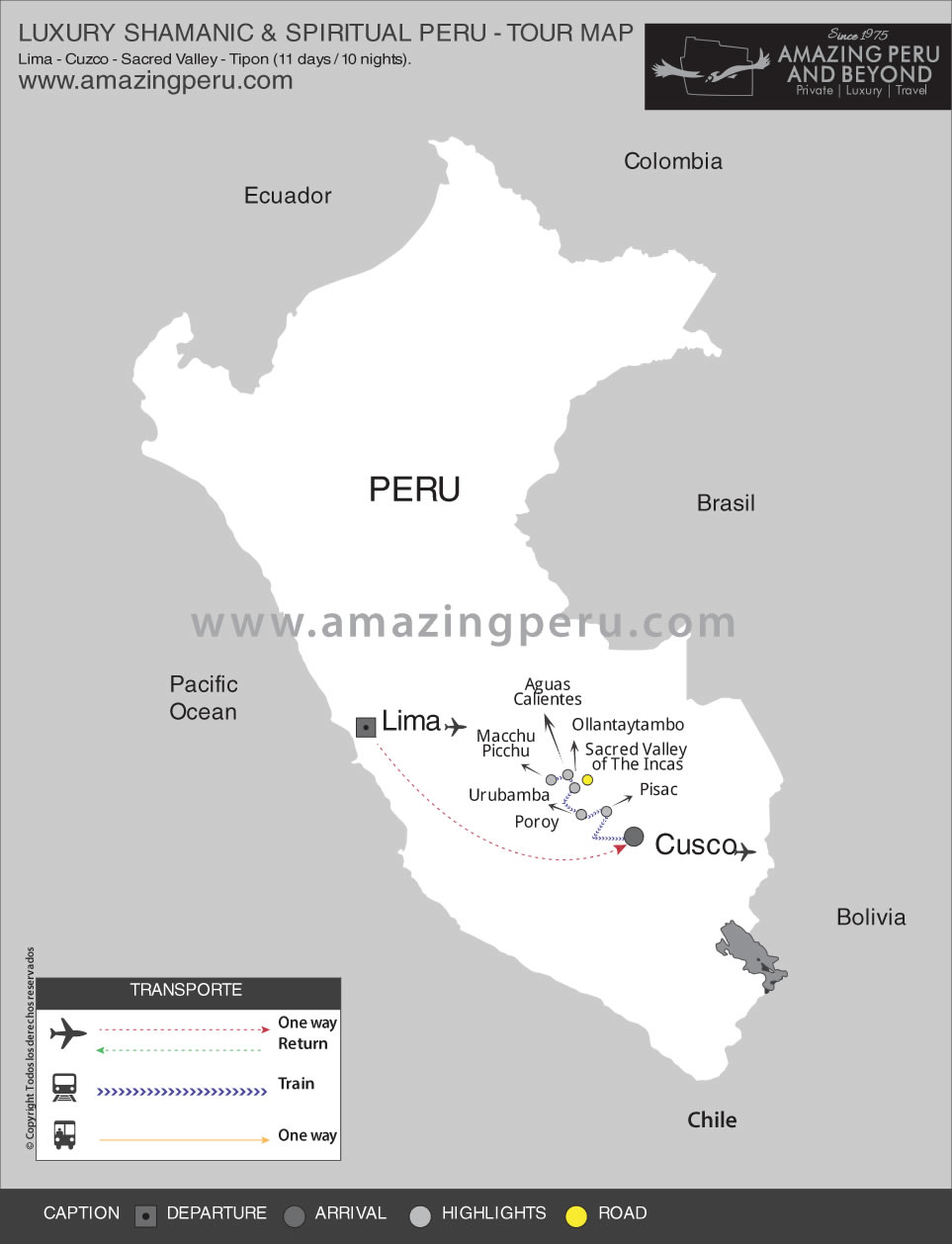 Luxury Shamanic & Spiritual Peru Tour - 11 days / 10 nights.