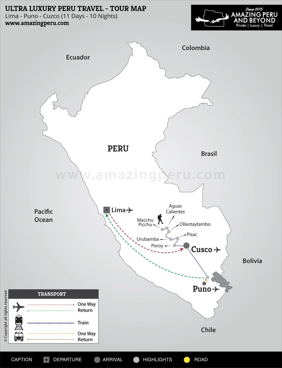 Ultra Luxury Peru Travel - A personal discovery - 11 days / 10 nights.