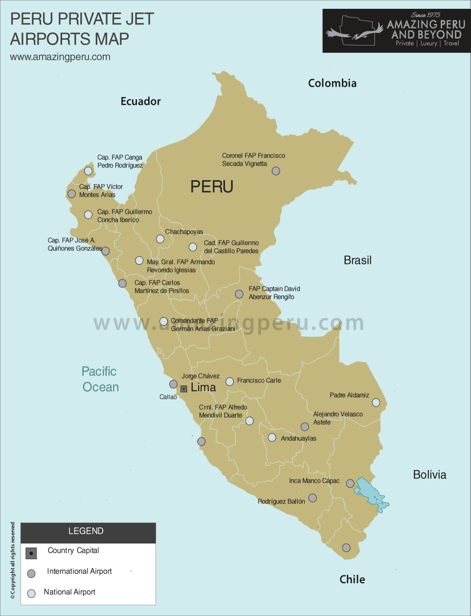 Airports In Peru Map.Ultra Luxury Vip Tours By Private Jet