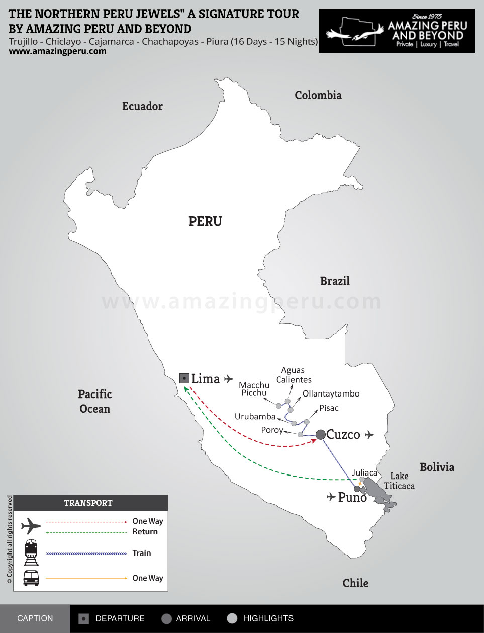 Premium Peru Tour 2 - 10 days / 9 nights.