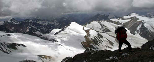 Escorted Fixed departure Tours <br />Climbing Aconcagua