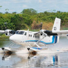 HELICOPTER FLIGHTS OVER THE AMAZON AND SEAPLANE OPTION LANDING ON AN AMAZON LAKE