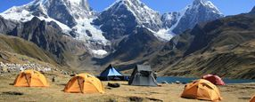Escorted Fixed departure Tours <br />Huayhuash trek