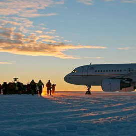 Antartica by Air in  2 days