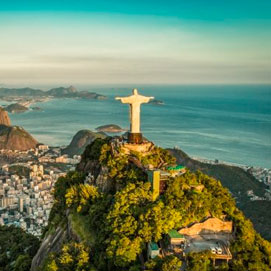Brazil Vacation from US$ 2295 Air & Land