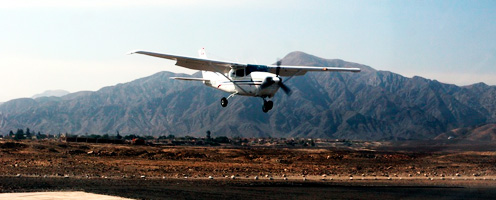 Private Flight Nazca