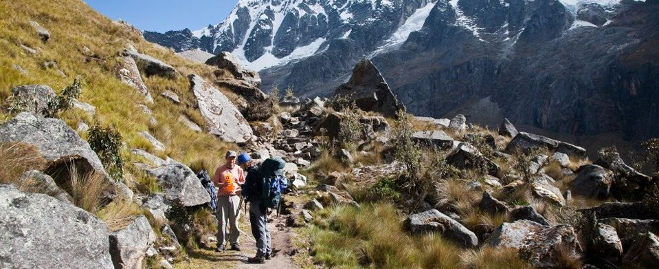 Escorted Fixed departure Tours <br /> Santa Cruz Trek