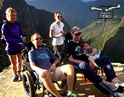 The Steve Gleason Inca Trail route