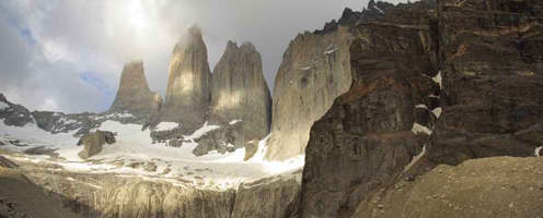 Escorted Fixed departure Tours <br />Torres del Paine Trek