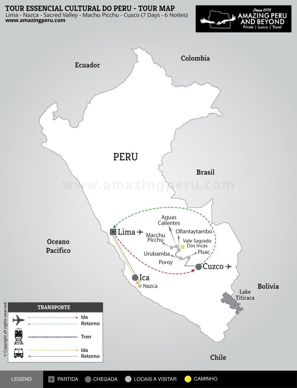 Tour Essencial cultural do Peru - 7 days / 6 nights.